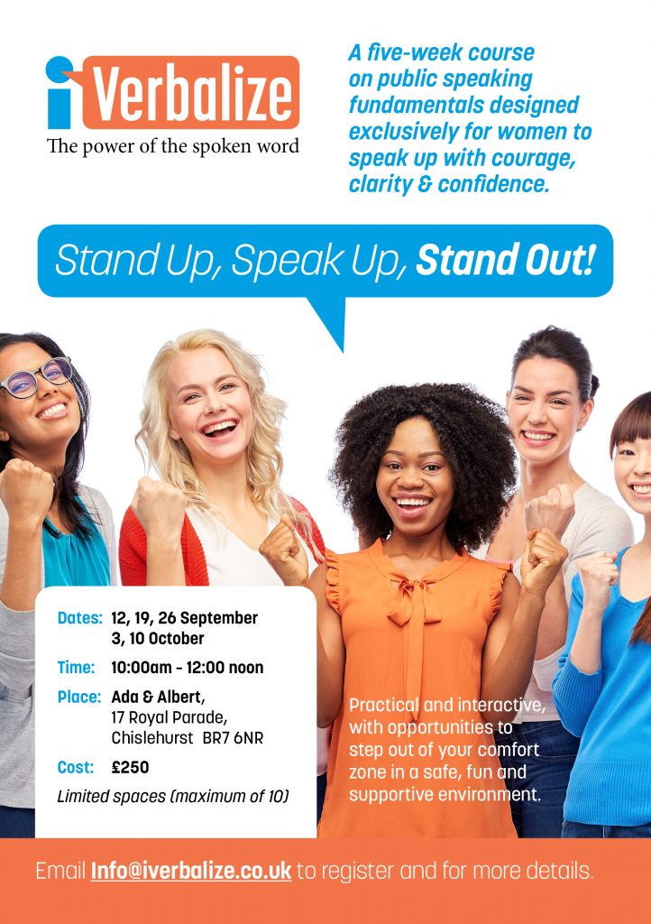 Stand Up Speak Up Stand Out